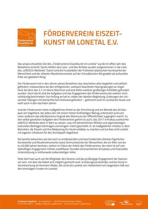 Förderverein Pressetext-Cover