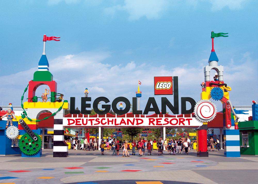 Legoland Eingangsportal