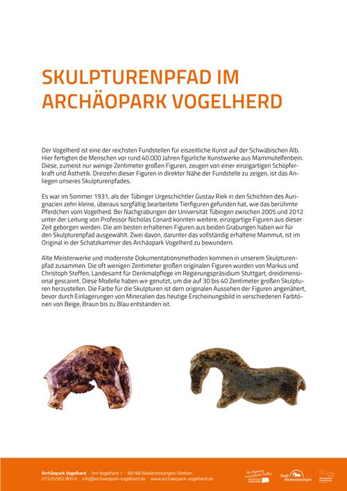 Skulpturenpfad Pressetext-Cover